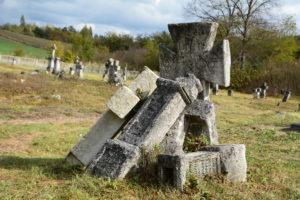 cmentarz greckokatolicki z połowy XIX w