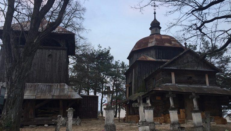 Cerkiew greckokatolicka Opieki Najświętszej Marii Panny w Woli Wielkiej, marzec 2020 r.